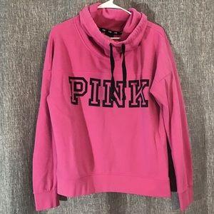 PINK V.S. Cowl neck sweatshirt